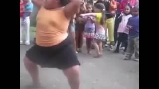 gorda vs flaca bailando