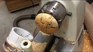 Woodturning- Spalted Birch Pet Urn