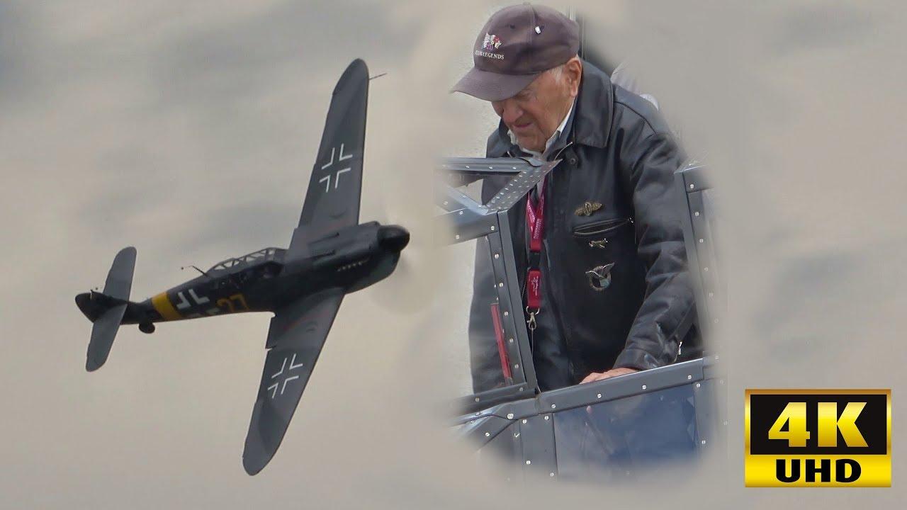 Luftwaffe Fighter Ace Erich B. is Flying the Messerschmitt 109 Again