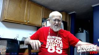 ANGRY GRANDPA'S FIRST FART ON twitch.tv LIVE