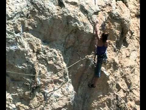 Alena Ostapenko Crimea Climb