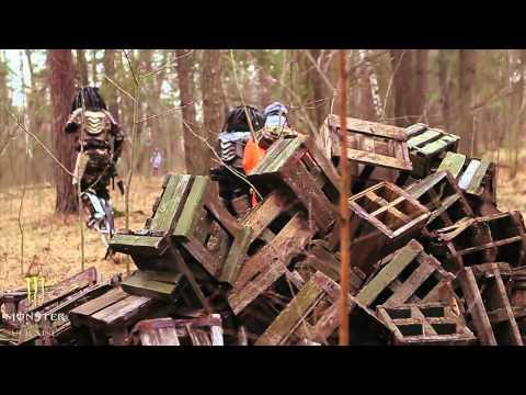 Paintball forest aliens vs cowboys by Monster Energy MAT Ukraine.mp4