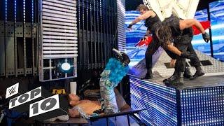 WWE Top 10 movimientos finales en el stage