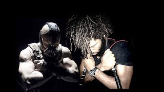 BANE WORKOUT TRAINING 'The Dark Knight Rages' (w/ bloopers)