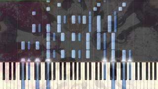 [Hanayamata] OP Hana wa Odore ya Iroha ni Ho Piano Synthesia Tutorial