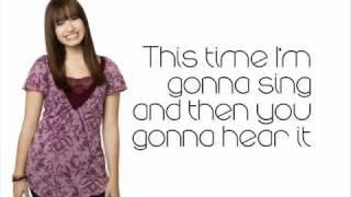 Brand New Day - Demi Lovato + Lyrics on Screen
