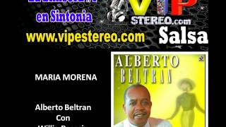Maria morena  - Alberto Beltran con Willie Rosario