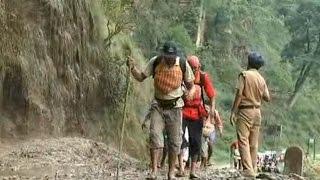 Bad weather sounds alert in Gangotri, Yamnotri