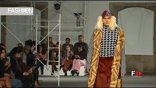 PIETRO FADDA Milano Moda Graduate 2019 Spring 2020 Portugal - Fashion Channel