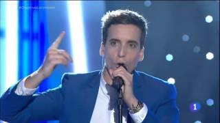 """Xuso Jones - """"Victorious"""" - Live Eurovisión Spain 2016"""