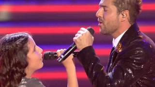 "David Bisbal ft. Esperanza: ""¿Lo Ves"" – Final  - La Voz Kids 2017"