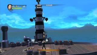 Matt Hazard: Blood Bath and Beyond - Sidescrolling Gameplay Part 1 of 2 [High Definition]