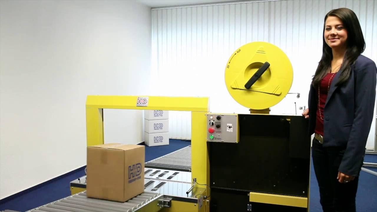 HDS-9 LA Vollautomatische Umreifungsmaschine