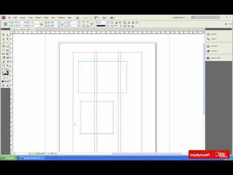 Adobe InDesing CS4 0301: Geometrik Şekiller Çizmek