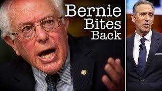 Bernie Sanders Calls Out Howard Schultz: