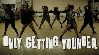Only Getting Younger (Milo & Otis remix) by Elliphant feat Skrillex Choreography by Kevin Maher