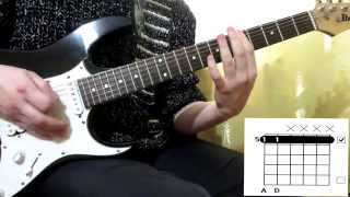 Three days grace - Human race cover how to play guitar lesson