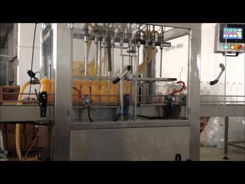 Tam Otomatik Deterjan Dolum Makinası - 10 Nozullu - Har Makina