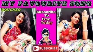 Jana Na Nain Milake Song   my favourite song   indian desi bhabhi singing song   Beautiful song width=