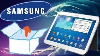 فتح صندوق ونظره سريعه على تاب 4 10انش بلنسختين   Samsung Galaxy Tab 4 10.1 LTE T535
