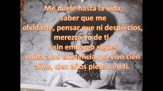 Pedro Infante Cien Años Letra