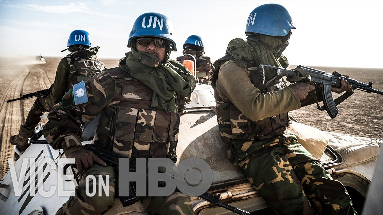 Patrolling the Lawless Sahara Desert with The Blue Helmets