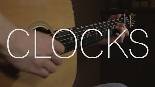 Coldplay - Clocks - Fingerstyle Guitar Cover By James Bartholomew