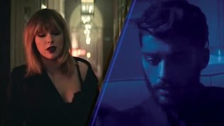 Taylor Swift Zayn Malik 'I Don't Wanna Live Forever' Music Video Debuts at Midnight, Teaser Released
