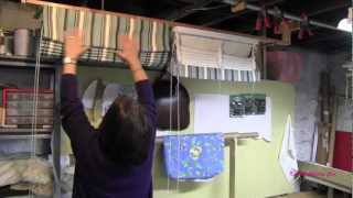 How To Make A Top Down Bottom Up Roman Shade width=