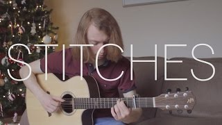 Shawn Mendes - Stitches - Fingerstyle Guitar Cover By James Bartholomew