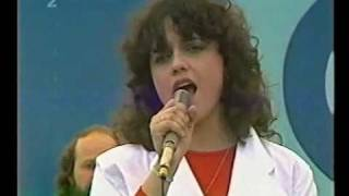 Lucie Bílá na spartakiádě 1985