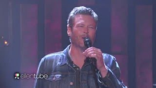 BLAKE SHELTON LIVE 'She's Got a Way with Words' PERFORMANCE On ELLEN SHOW 'MAY 23_16_{VIDEO}_HD+