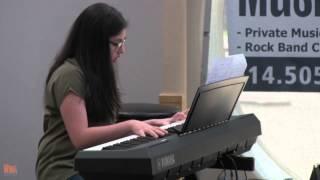 """Jessica Chemtov - Debussy """"Claire de Lune"""" Piano Cover - LIVE @ WIMA RECITAL 2015"""
