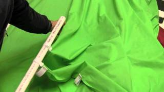 How to make a Green Screen for under $40