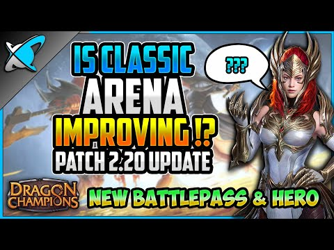 IS CLASSIC ARENA IMPROVING? | Patch 2.20 Update | (DC) New Battle Pass & Hero | RAID: Shadow Legends
