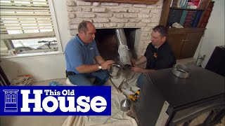 How to Install a Wood-Burning Fireplace Insert - This Old House