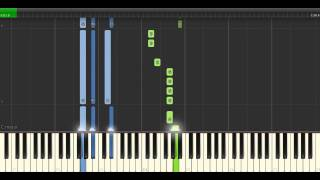 Janelle Monae & Jidenna - Yoga Piano Tutorial - Cover - How To Play - Synthesia