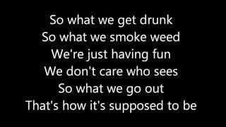 Young, Wild & Free - Wiz Khalifa ft. Snoop Dogg [Lyrics On Screen]