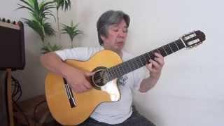 Batucada~Luiz Bonfa(Guitar Score+Tab)ジョアン杉田ギター編曲・演奏