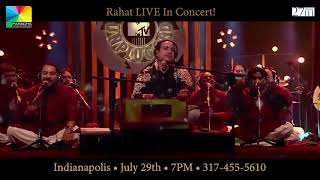 Rahat Fateh Ali Khan LIVE in INDIANAPOLIS and ST LOUIS