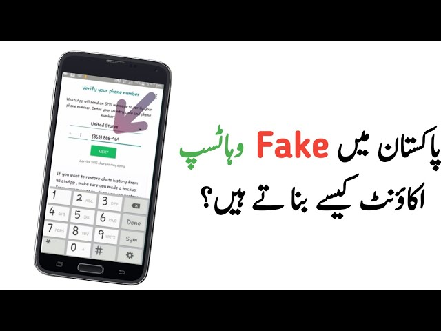 Download thumbnail for How to create a WhatsApp account with fake
