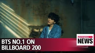BTS first South Korean artist to top Billboard 200