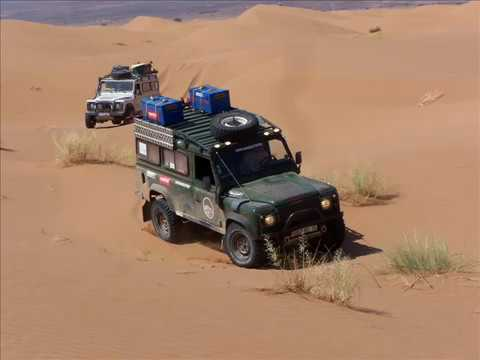 LAND ROVER ,DESERT EXPEDITION