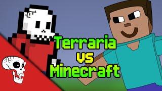 Terraria vs Minecraft Rap Battle by JT Machinima and VGRB