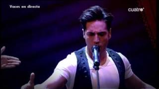 David Bustamante cantando Nessun Dorma con Pablo Motos