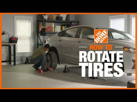 A video on how to rotate tires.
