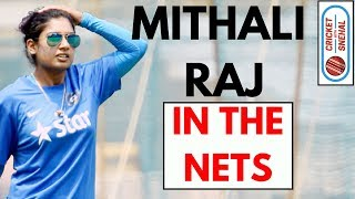 Mithali Raj Batting | Nets | India women captain | Best  Batsman in the World | Cricket With Snehal