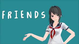 Official Friend zone anthem | Yandere simulator   【MMD】Motion DL