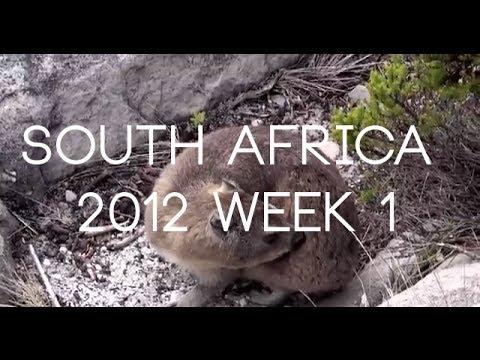 South Africa 2012 Week 1