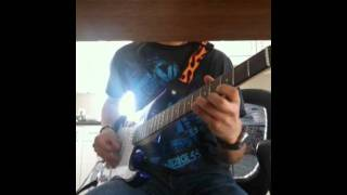 Black Veil Brides - Fallen Angels guitar cover *